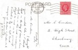 1934 King George V 1d Red Photogravure Definitive, Postcard of Cowley Post Office Middlesex, Uxbridge Middx. Cancel