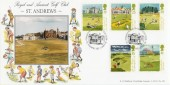 1994 Golf Bradbury LFDC 125 Official St.Andrews FDC
