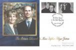 1999 Royal Wedding, Westminster Official FDC, Royal Wedding Prince Edward & Sophie Rhys-Jones Windsor Berkshire H/S