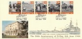 1994 D Day 50 Overlord Southwick Post Office Official FDC, 50 Overlord Southwick Hampshire H/S