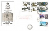 1965 Battle of Britain, The Evening News FDC, Evering Road Stoke Newington N16 cds