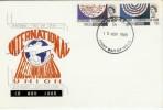 1965 International Communications Ordinary Set London EC FDI FDC