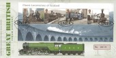 2012 Classic Locomotives of Scotland, Royal Mail Special Flying Scotsman FDC, LNER Class AI 4-6-2  Flying Scotsman No.4472 Edinburgh H/S