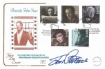 1985 British Film Year, Cotswold Official FDC, British Film Year The David Niven Motor Neuron Association Northampton, H/S Signed by Doctor Who Actor Jon Pertwee