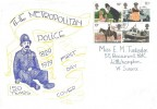 1979 Police, 150 Years of the Metropolitan Police Card, Worthing West Sussex FDI