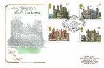 1978 Historic Buildings, Cotswold Official FDC, Wells Cathedral 800th Anniversary Wells Somerset H/S