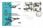 1965 Battle of Britain, Pair of RAF Station Waddington Covers, Waddington RAF PO Lincoln cds