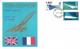 1969 Concorde, Thames FDC, Filton Bristol FDI