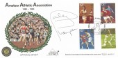 1980 Sporting Anniversaries, Benham BOCS 23 Official FDC, 100th Anniversary of the Amateur Athletics Association Crystal Palace H/S, signed by Daley Thompson