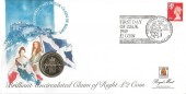 1989 Tercentenary of the Claim of Right £2 Coin Cover, First Day of Issue 1989 £2 Coin Tercentenary Claim of Right Royal Mint Pontyclun Mid. Glam H/S