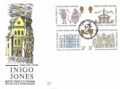 1973 Inigo Jones, Benham Engraved FDC, First Day of Issue Philatelic Bureau H/S