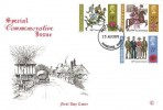 1971 General Anniversaries, Connoisseur Special Commemorative FDC, Barnstaple Devon FDI