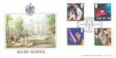 1991 Sports, Bradbury LFDC No.97 Official FDC, Rugby School Celebrates Rugby World Cup Rugby Warks.H/S