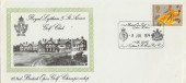1974 Great Britons Royal Lytham & St.Annes Golf Club Official FDC pre-dated