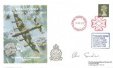 1988 The Bombing of Berchtesgaden The Eagles Nest 617 Squadron Royal Air Force Cover, National Postal Museum London EC1 Maltese Cross H/S, Signed by Alex Sinclair Flight Engineer