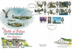 1965 Battle of Britain R F Grover FDC, Biggin Hill Westerham Packet cds