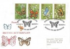 1981 Butterflies, Philcovers FDC, Margaret Fontaine Exhibition Castle Museum Norwich Norfolk H/S