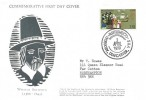 1970 General Anniversaries, William Brewster Official Scrooby FDC, 1/6d Mayflower stamp only, Mayflower 70 Scrooby Doncaster Yks. H/S
