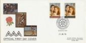 1986 Royal Wedding Amatuer Athletic Asscociation Official FDC