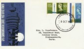 1965 Post Office Tower, GPO FDC Phosphor Set, London WC FDI