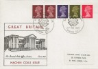 1969 1s Multi Value Coil, Historic Relics FDC, National Postal Museum London EC1 H/S