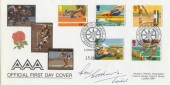 1986 Sports Amateur Athletic Association Official Signed FDC
