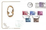 1982 QEII Postage Dues, Short Set 1p, 2p, 3p, 4p, 5p, Cotswold FDC, Bath Sorting Office cds