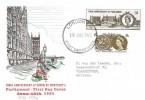 1965 700th Anniversary of Parliament, Illustrated FDC, London WC FDI