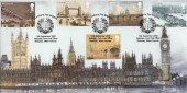 2002 Bridges on London's Fire Brigade Bletchley Park Official FDC