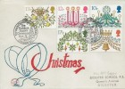 1980 Christmas, Philcovers FDC, Norway's Christmas Gift to Britain The Trafalgar Square Christmas Tree London WC H/S