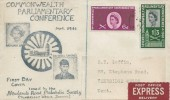 1961 Parliament, Newlands Road Philatelic Society FDC, Post Office Express Delivery, Tunbridge Wells Kent cds