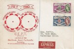 1960 Europa, Newlands Road Philatelic Society Red Version FDC, Post Office Express Delivery, Tunbridge Wells Kent cds