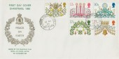 1980 Christmas, RAF Gatow Philatelic Club FDC, British Forces Post Office Berlin 3 cds