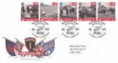 1994 D-Day Bletchley Park / Royal Mail Official FDC