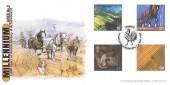 1999 Farmers' Tale, Bradbury LFDC 174 Official FDC, Farmers Stoneleigh Kenilworth H/S