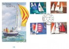 1975 Sailing, Philart FDC, House of Commons SW1 cds