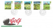 1994 Golf, Royal Mail FDC, House of Commons SW1 cds