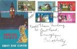 1970 General Anniversaries, Connoisseur Big Ben FDC, Swansea Glam. FDI