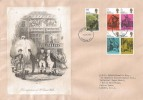1970 Literary Anniversaries, First Appearance of Mr Samuel Weller FDC, London EC FDI