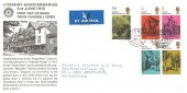 1970 Literary Anniversaries, Chigwell Rotary Official FDC, E78 Chigwell Essex H/S