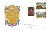 1967 Paintings, Illustrated FDC, London WC FDI