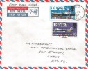 1967 European Free Trade Area (EFTA), Air Mail FDC, FPO 943 cds (used in Cyprus)