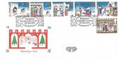 1973 Christmas, Historic Relics FDC, First Day of Issue Bethlehem Llandeilo Carms. H/S
