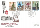 1979 Sir Rowland Hill, Historic Relics FDC, First Day of Issue London EC H/S