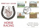 1979 Horse Racing, Historic Relics FDC, First Day of Issue Epsom Surrey H/S
