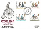 1978 Cycling Centenary, Historic Relics FDC, First Day of Issue Harrogate Yorkshire H/S