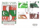 1977 Racket Sports, Historic Relics FDC, First Day of Issue Philatelic Bureau Edinburgh H/S
