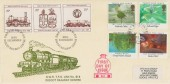 1985 Composers, GWR Didcot Railway Centre FDC, Great Western TPO Up cds