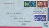 1961 CEPT, Air Mail Envelope FDC, London FS Cancel