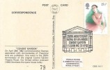1982 British Theatre, Veldale Covers Card FDC, 15½p stamp only, 250th Anniversary Royal Opera House Covent Garden London WC H/S